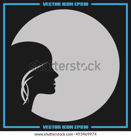 Woman icon vector illustration eps10.