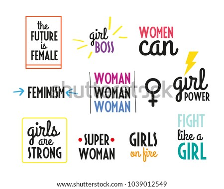 Woman Power Quotes Collection. Girl Power. Girls On Fire. Women Can. The