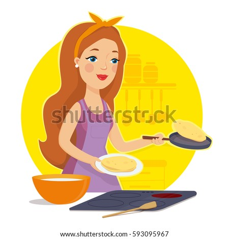Lovely Housewife Stock Images, Royalty-Free Images ...