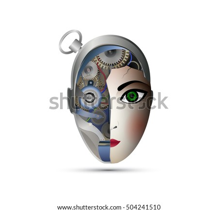 Half Human Half Robot Stock Images, Royalty-Free Images ...