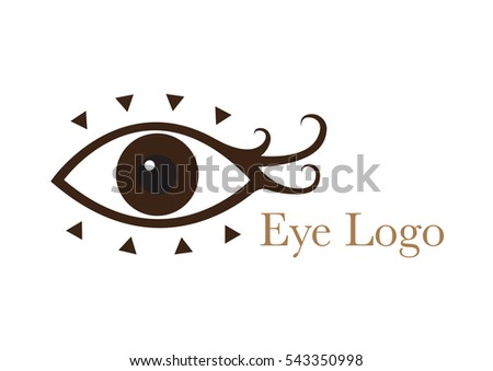 Woman's eye logo