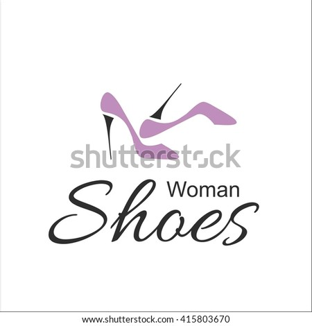 Woman's shoes - stock vector