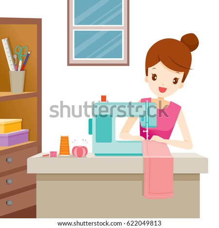 Cartoon Tailor Stock Images Royalty Free Images Vectors Shutterstock