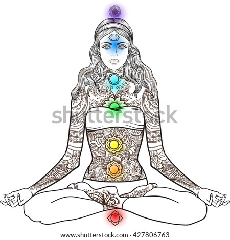 Lotus Position Drawing Www Pixshark Com Images