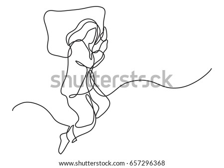 Sleepy Head Cliparts likewise Bed Time further Contour furthermore Outline Of Male In Sleeping Bag 29080366 moreover White Bed Cliparts. on person sleeping in bed drawing