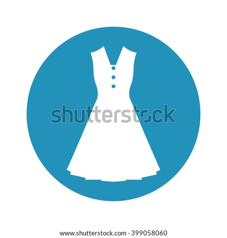 Women dress icon