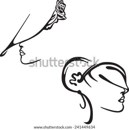 Beautiful Vector Girls And Logos From Stock Women Logo Vector Design Girl