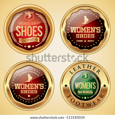 Women's Shoes badges