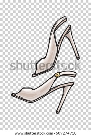 Open Toe Shoes Stock Images, Royalty-Free Images & Vectors ...