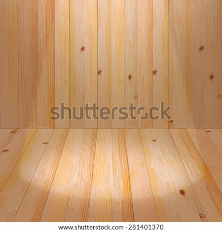 Wood backdrops.