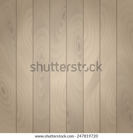 Wood background, old wooden texture - stock vector