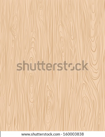 Wood brown background. Vector - stock vector