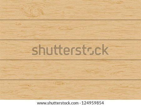 Wood plank background. Vector illustration - stock vector
