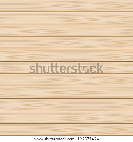Wood plank background, vector illustration - stock vector