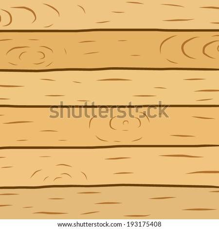 Wooden Plank Cartoon : Wood plank brown texture background / cartoon vector and illustration ...