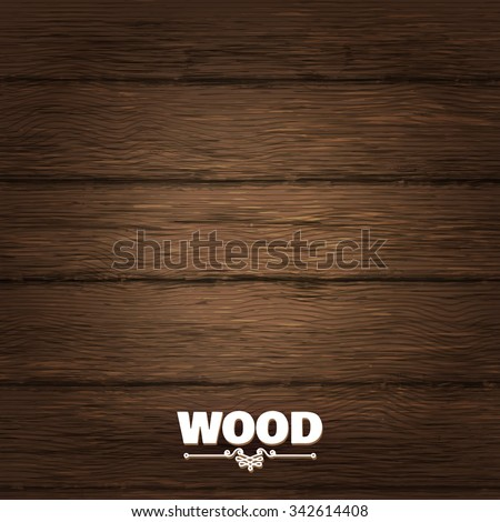 Wood Planked Texture. Vector illustration - stock vector