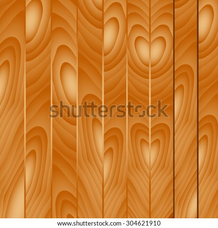 Wood planks texture. Vector illustration wooden background. Realistic wooden texture with boards. - stock vector