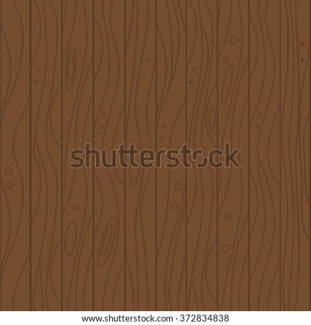 Wood seamless vector background texture. Flat design illustration.