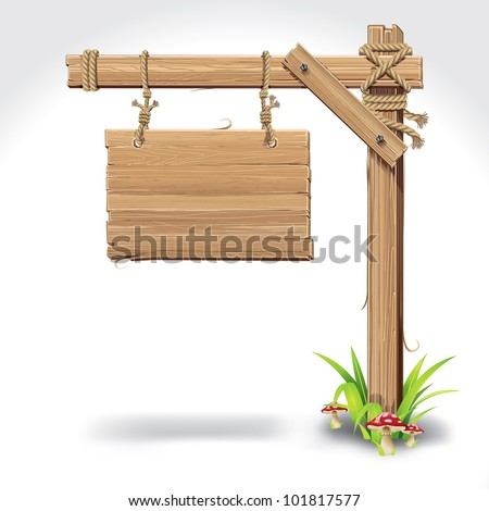Hanging Wooden Sign Stock Images, Royalty-Free Images & Vectors ...