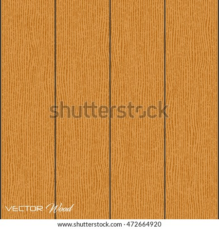 Wood texture background vector illustration