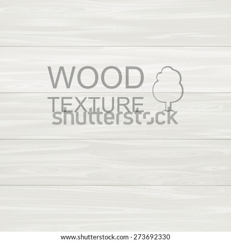 Wood texture template. Painted planks  - stock vector