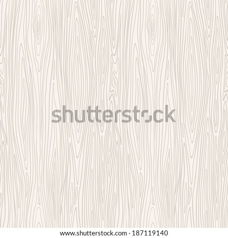 Wood texture template. Seamless pattern. Vector illustration. - stock vector