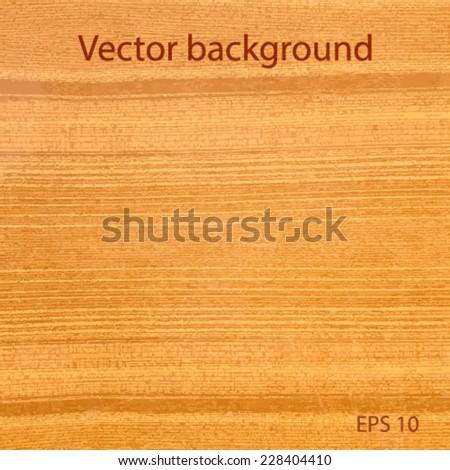 wood texture vector  - stock vector