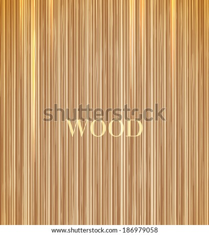 wood texture with modern pattern - stock vector