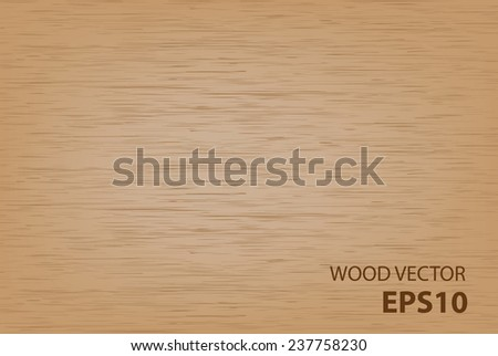 Wood vector background. - stock vector