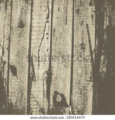 wooden background. vector illustration. - stock vector