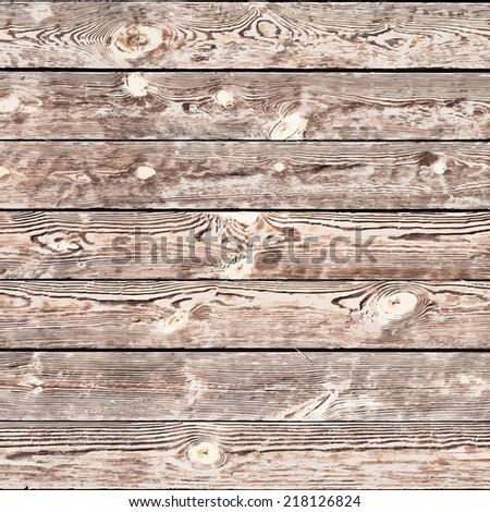 Wooden Bleach Planks Background for your design. EPS10 vector. - stock vector