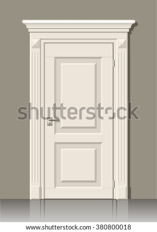 Door frame stock images royalty free images vectors for Room door frame