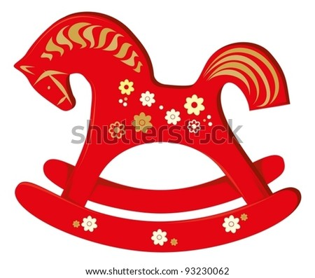 Wooden horse Stock Photos, Illustrations, and Vector Art