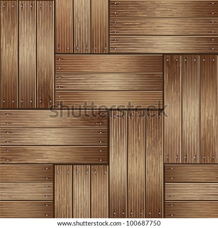 Wooden texture background. vector illustrator - stock vector