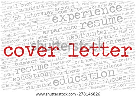 words to use in a cover letters