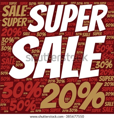 word sharp vector design super sale