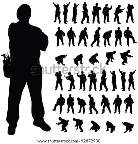 construction worker stock images  royalty free images welder clip art graphics welding clip art black and white