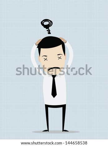 working man collection , for use in presentations or website - stock vector