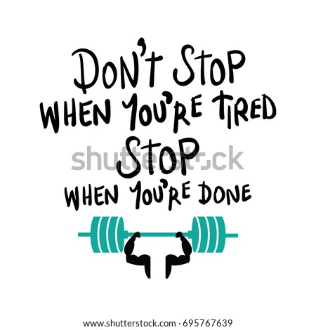 workout gym fitness bodybuilding motivation concept vector print design