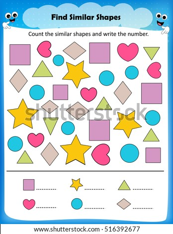 Aldiablosus  Marvelous Worksheet Stock Photos Royaltyfree Images Amp Vectors  Shutterstock With Exciting Worksheet  Count Similar Shapes Worksheet For Preschool Kids With Amusing Jamestown Worksheets Also All About Me Kindergarten Worksheets In Addition Commanding Officers Financial Worksheet And Th Grade Multiplication Worksheets Printable As Well As Free Printable Writing Worksheets For Kindergarten Additionally Sight Words For First Grade Worksheets Free From Shutterstockcom With Aldiablosus  Exciting Worksheet Stock Photos Royaltyfree Images Amp Vectors  Shutterstock With Amusing Worksheet  Count Similar Shapes Worksheet For Preschool Kids And Marvelous Jamestown Worksheets Also All About Me Kindergarten Worksheets In Addition Commanding Officers Financial Worksheet From Shutterstockcom