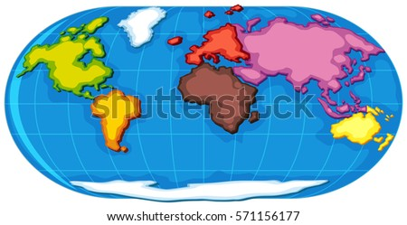 Continents Stock Images RoyaltyFree Images Vectors - Name the seven continents