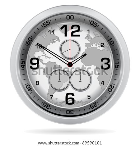 World Clock - stock vector