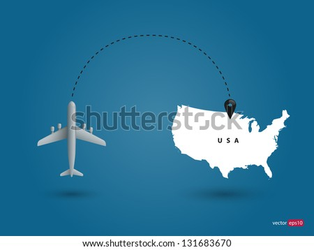 World communication. Vector illustration.