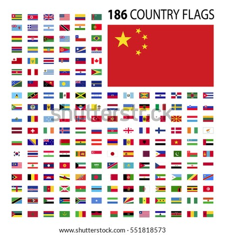 World Country Flags Stock Images, Royalty-Free Images & Vectors ...
