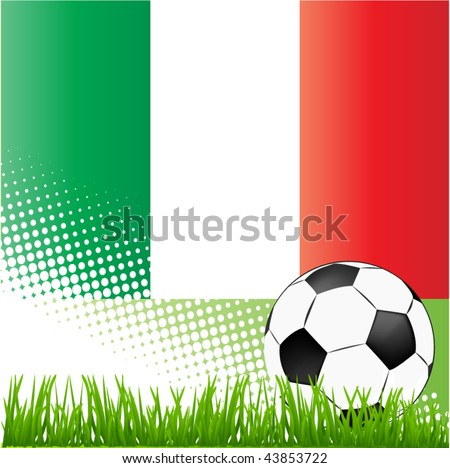 world cup italy - stock vector