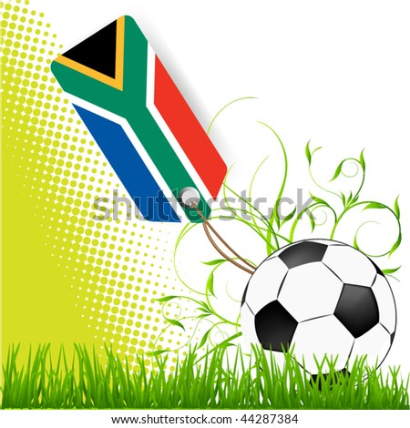 world cup south africa - stock vector