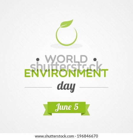 World Environment Day - stock vector