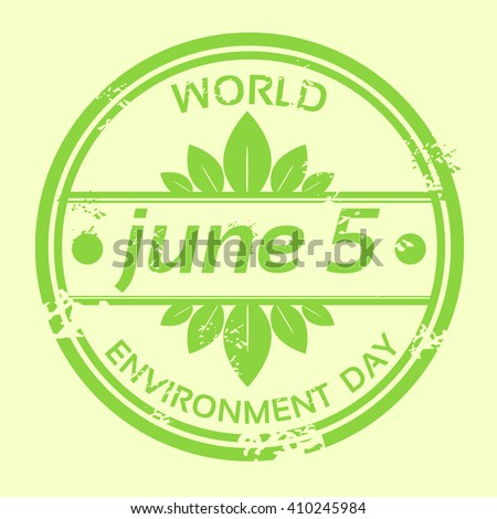 World Environment Day. Vector Illustration