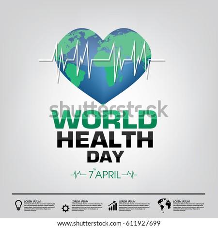 World Health Day Campaign Logo Icon Stock Photo Photo Vector