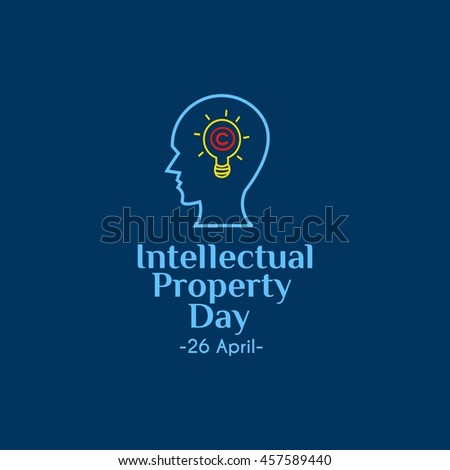 World Intellectual Property Day. vector illustration. good for banner and greeting card - stock vector
